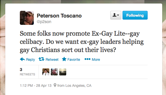 Peterson toscano tweet